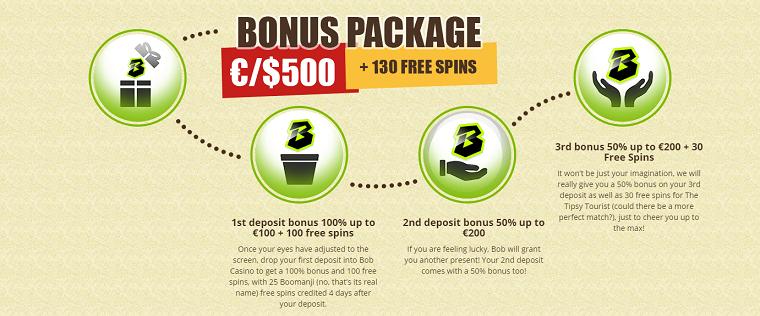 bob casino bonussen