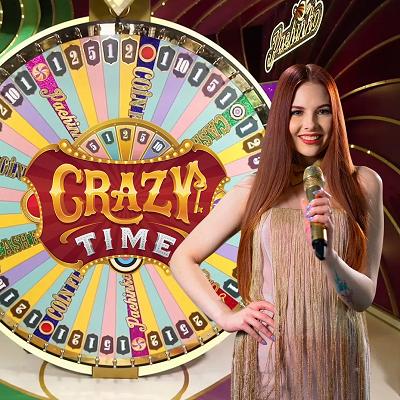 crazy time live logo