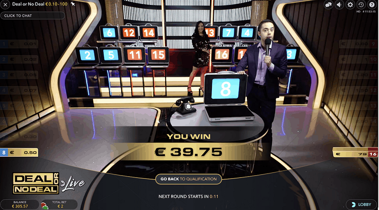 deal or no deal winst