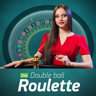 double ball roulette live logo