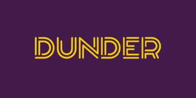 Dunder Casino • 20 No Deposit Free Spins