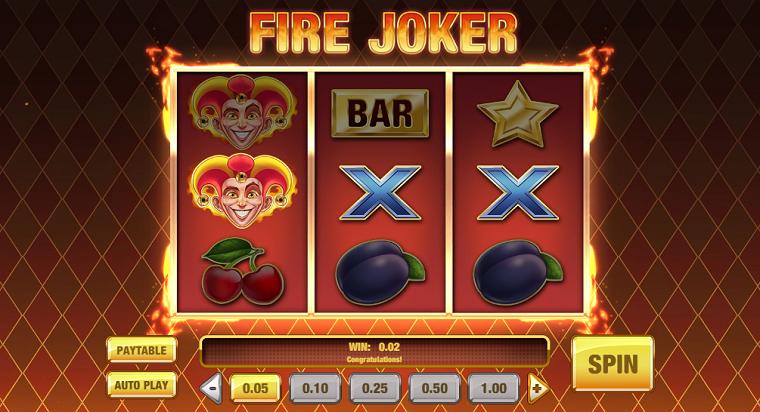 fire joker gewonnen