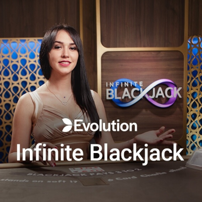 infinite blackjack live logo