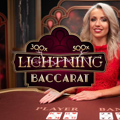 lightning baccarat live logo