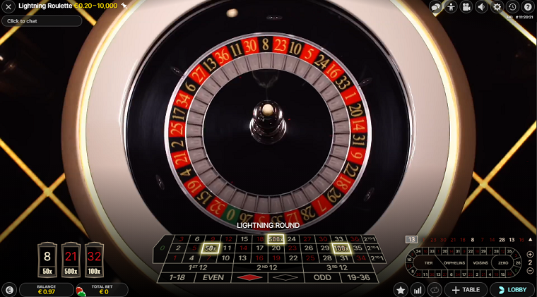 lightning roulette live roulettewiel