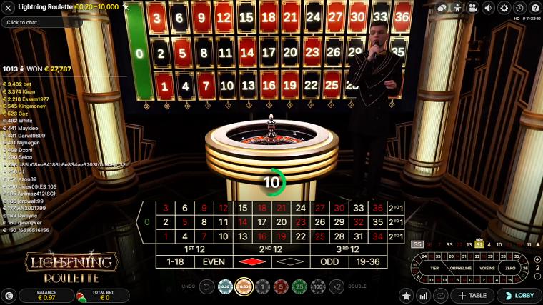 lightning roulette live spelen 2