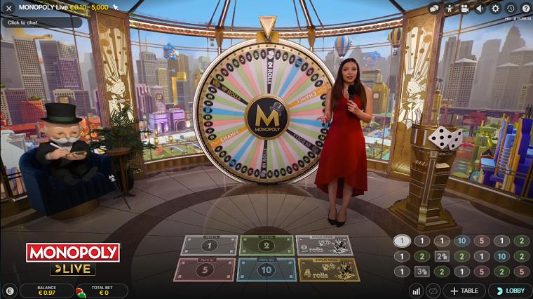 monopoly live spelen
