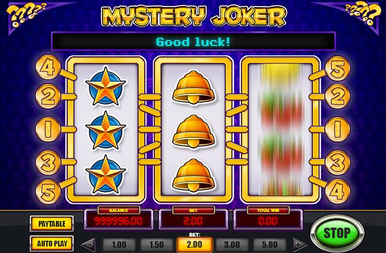 mystery joker speelbeurt