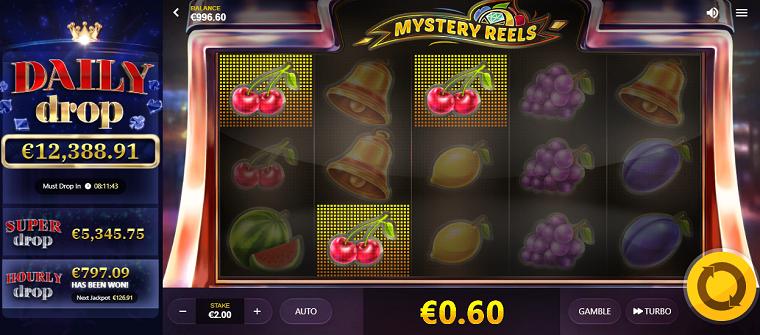 mystery reels winst