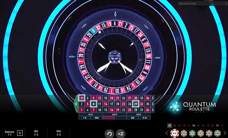 quantum roulette roulettewiel