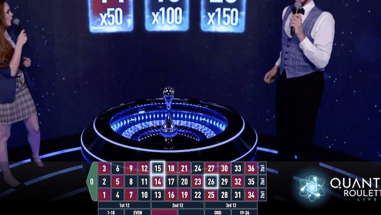 quantum roulette speelronde