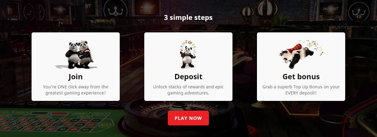 royal panda casino stappenplan