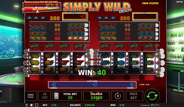 simply wild gewonnen