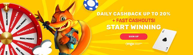 crazy fox casino bonus
