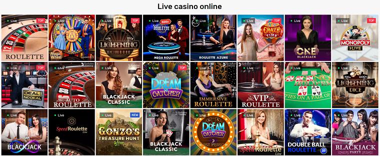 crazy fox casino live casino
