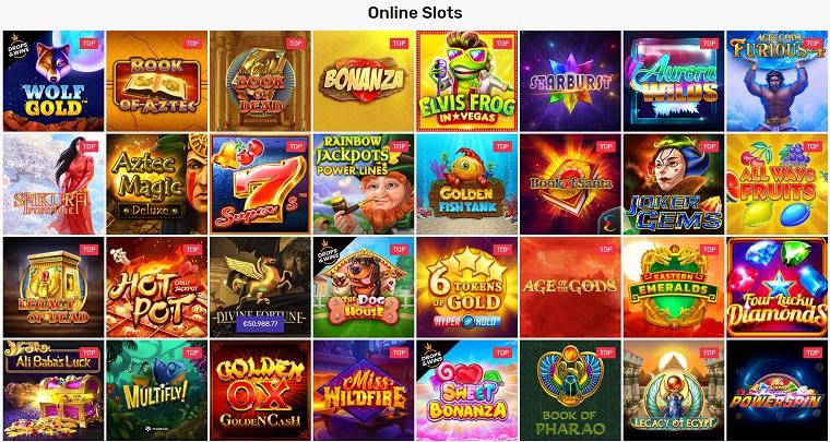crazy fox casino slots aanbod