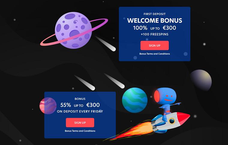 Evospin Casino Bonussen