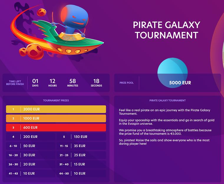 Pirate Galaxy Tournament