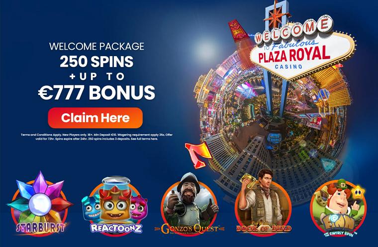 plaza royal casino welkomstbonus